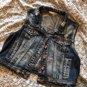 Highway jeans brand denim vest